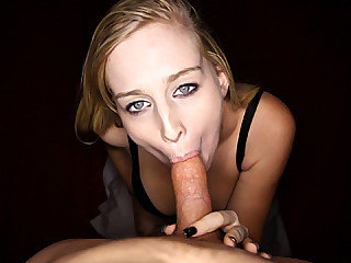 Stacie Jaxxx dropped to her knees and started slobbering a king sized dick