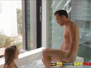 Sister Caught Wanking In Bath & Fucked